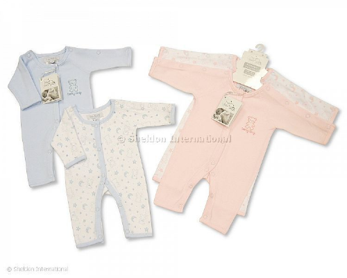 Premature Baby Incubator SleepSuits (2 pack)